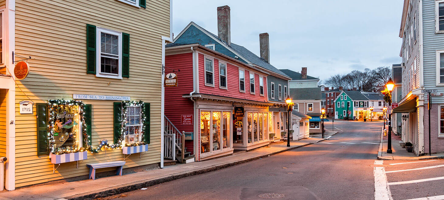 Washington Street in Marblehead, MA