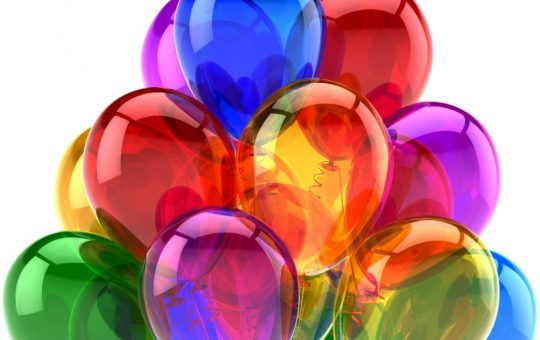 party balloons for Marblehead celebration