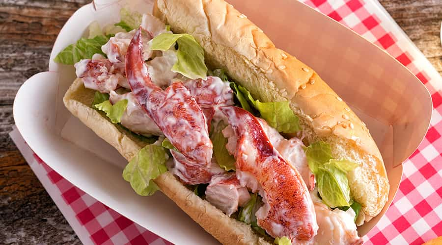 The best lobster roll in Marblehead